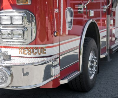 Firefighters battle blaze from 22-ton pile of chicken poop