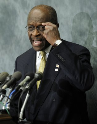 Cain backs off on blaming Perry for leak