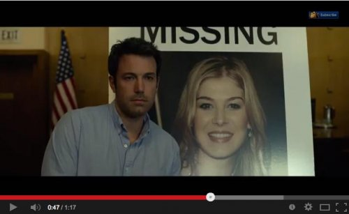 Ben Affleck stars in creepy new trailer for 'Gone Girl'