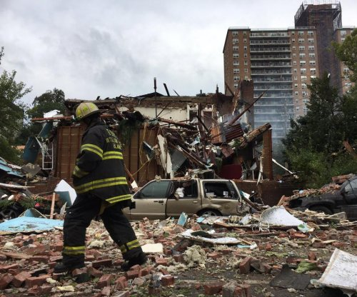FDNY battalion chief killed in drug house explosion, 12 hurt