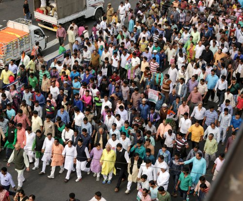 'Day of Rage' rupee ban protests held in India