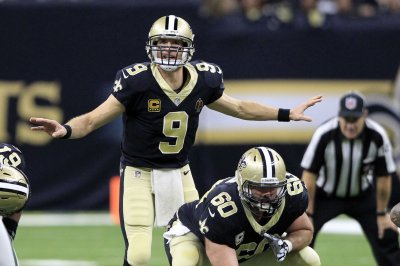 Drew Brees tosses two touchdowns as New Orleans Saints stop New York Jets