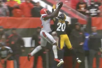 Cleveland Browns' Josh Gordon grabs top-shelf TD for only catch vs. Pittsburgh Steelers