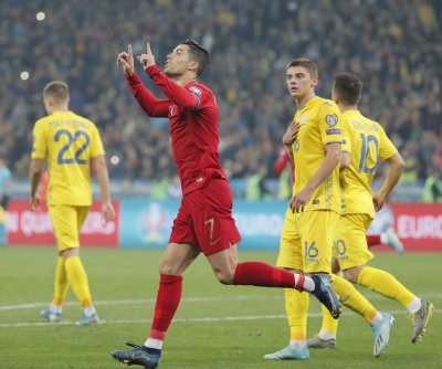 Cristiano Ronaldo scores 700th goal in loss to Ukraine