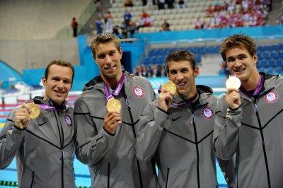Olympic Medal: M Swim 400 Medley Relay