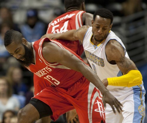 James Harden, Houston Rockets visit Cleveland Cavaliers