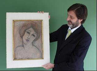 Previously unknown work of painter Modigliani discovered