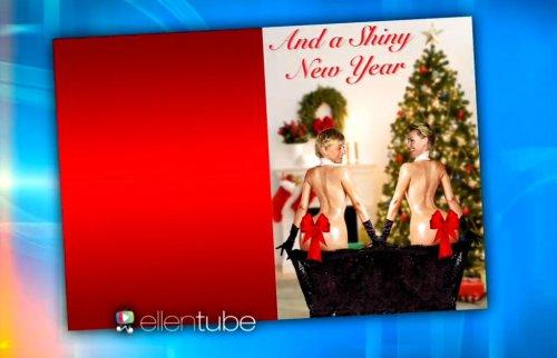 Ellen DeGeneres, Portia de Rossi spoof Kim Kardashian's Paper cover