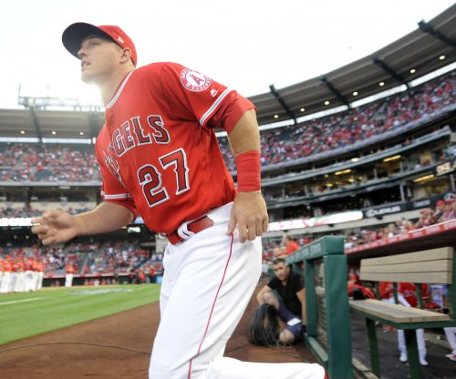 "Los Angeles Angels say Mike Trout's hamstring is ""clean and normal"""