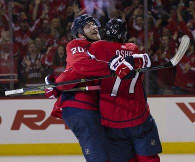 Stanley Cup Playoffs: Capitals blank Lightning in Game 6