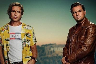 Leonardo DiCaprio, Brad Pitt star in 'Once Upon a Time in Hollywood' poster