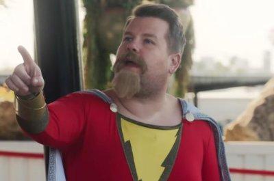 'Shazam!' star Zachary Levi helps James Corden become a superhero