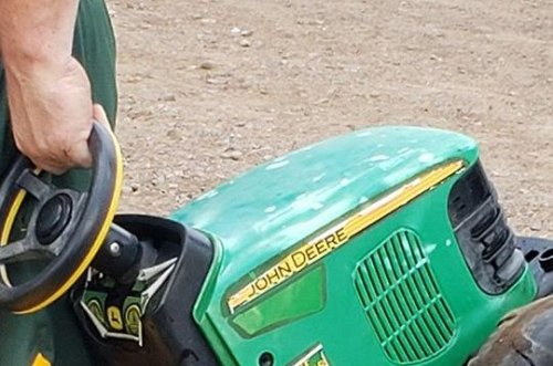 Minn. toddler found after riding toy tractor to county fair