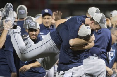 Rays bash A's in AL wild-card playoff, advance to face Astros in ALDS