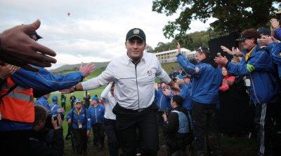 Molinari leads WGC event in China