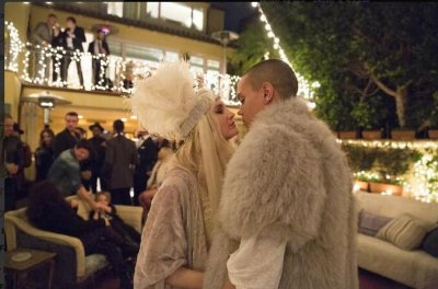 Ashlee Simpson and Evan Ross throw engagement party