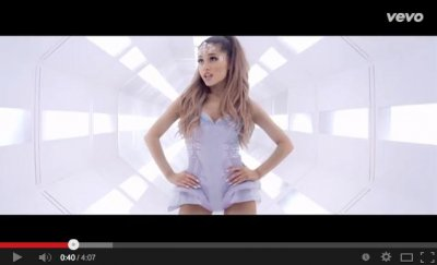 Ariana Grande visits outer space in 'Break Free' music video