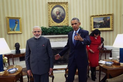 Obama hosts India's PM Narendra Modi for bilateral talks at White House