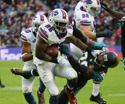 RB LeSean McCoy's status for Jets up in air