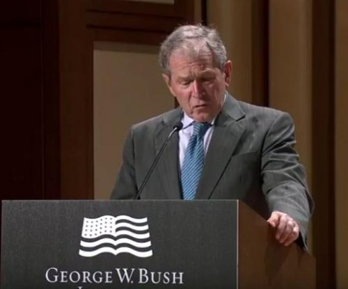 George W. Bush: U.S. can't afford to 'drift' on North Korea