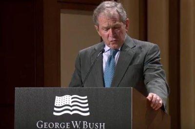 George W. Bush: U.S. can't afford to 'drift' on North Korea