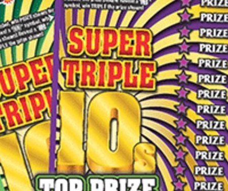 Bartender's lottery scratch-off tip leads to $100,000 jackpot