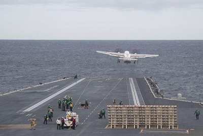 CSG-12 assumes operational control of USS Gerald Ford