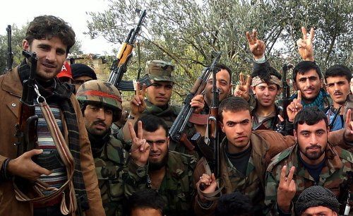 Report: Syrian opposition getting arms