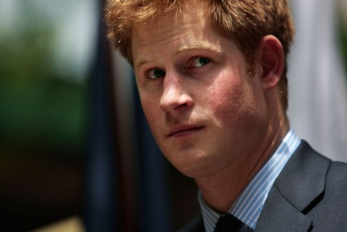 William and Harry visit snakes in Botswana
