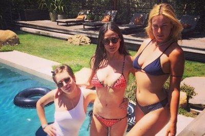 Demi Moore and daughters stun in bikini photo