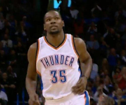 Kevin Durant's triple-double leads Oklahoma City Thunder past Atlanta Hawks