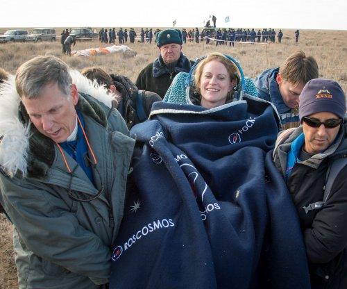 Three astronauts land safely after 115-day mission on International Space Station