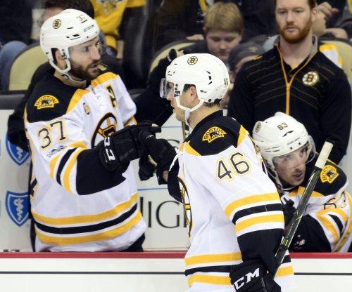 David Krejci, Tuukka Rask help Boston Bruins complete sweep of Florida Panthers