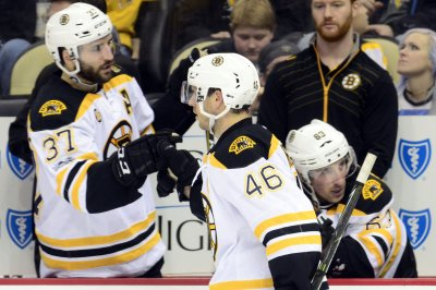David Krejci, Tuukka Rask help Boston Bruins complete sweep of Florida Panthers