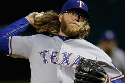 Return to Oakland sweet for Texas Rangers' A.J. Griffin