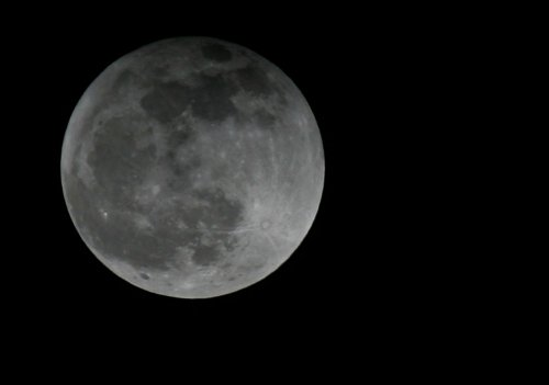 The moon is (kind of) flat, and scientists know why