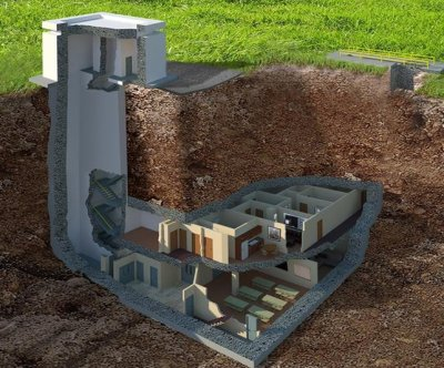 $17,500,000 underground bunker for sale in Georgia