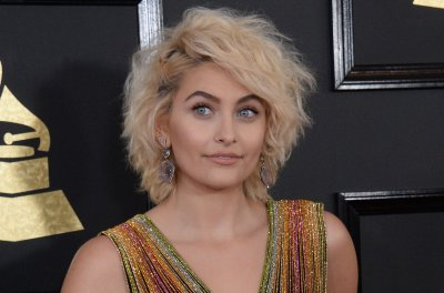 Paris Jackson co-designed her tie-dye Grammys dress