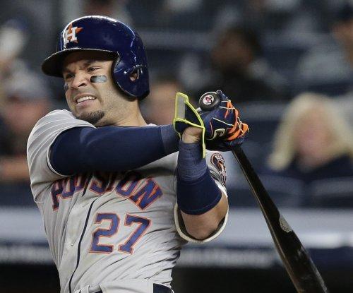 Jose Altuve sparks Houston Astros' ninth inning rally over Kansas City Royals
