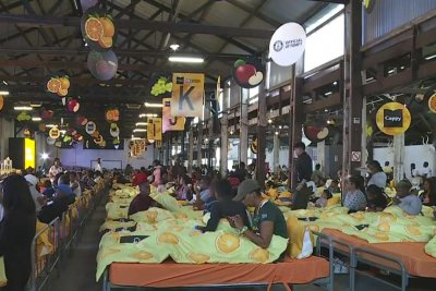 Breakfast in bed world record broken in South Africa