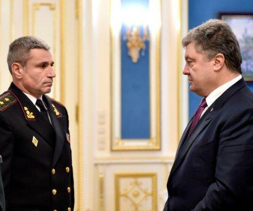 Ukraine names new naval commander