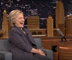 Hillary Clinton calls Trump, Putin connection a 'bromance' on 'Tonight Show'