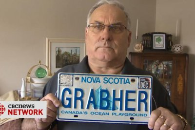 Nova Scotia man's name, Grabher, banned from license plate