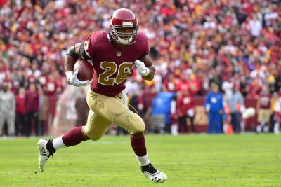 Redskins' Adrian Peterson erupts for career-long 90 yard TD run