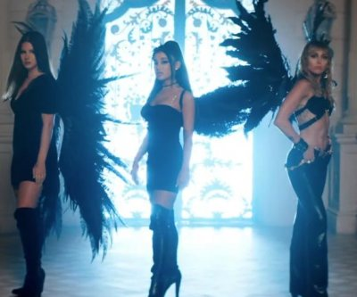 Ariana Grande, Miley Cyrus, Lana Del Rey team up for 'Don't Call Me Angel' video