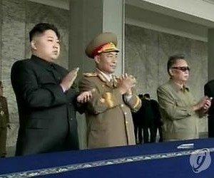 N. Korean leader shown at military parade