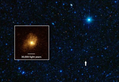 Astronomers wowed by 'efficiency' of distant star-making galaxy