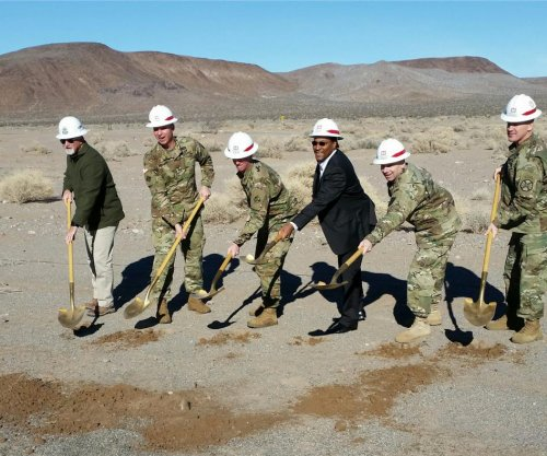 Ground broken on Gray Eagle UAS training facility