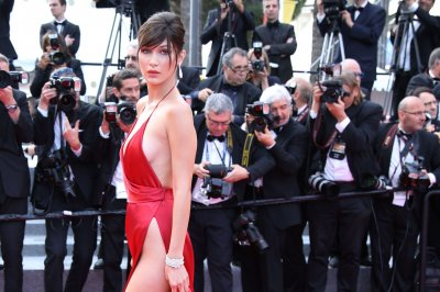 Bella Hadid stuns in revealing dress in Cannes