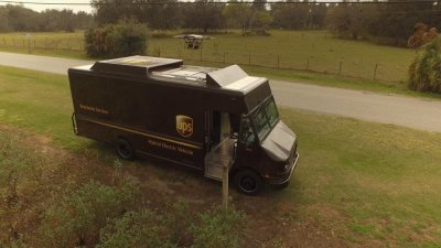 UPS tests drone to deliver packages